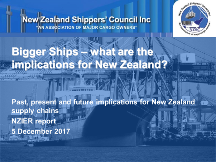 Big Ships Presentation 2018